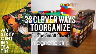 33 Organizing small things ideas