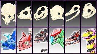 Archaeologist Jurassic + Dino Robot Corps #4 | Eftsei Gaming