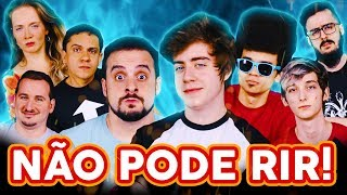 NÃO PODE RIR! com Cellbit, Rik Editor, Calango e Nobreza Games