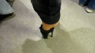 Ballet boots in public