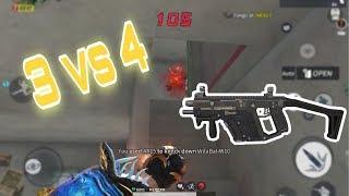 Rules of survival : Vector best kill *3 vs 4* | full gameplay Ep45