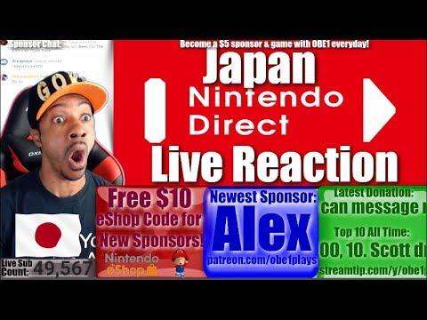 Xxx Mp4 Japan Nintendo Direct Is Different Live Reaction 3gp Sex