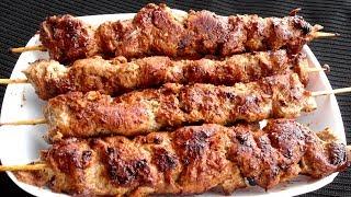 গ্যাসের চুলায় শিক কাবাব রেসিপি -  Bangladeshi Seekh Kabab Ranna Recipe - Beef Kabab of Bangladesh