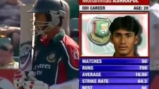 Ashraful 100 vs Australia at Cardiff 2005