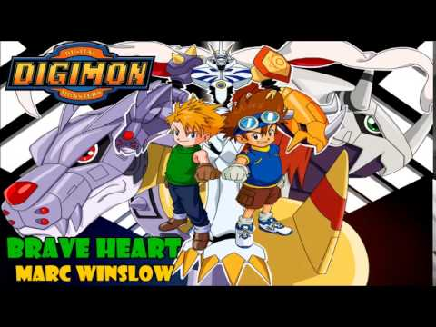 Brave Heart (Digimon Adventure) cover latino by Marc Winslow