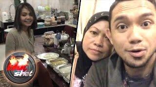 Tiba di Brunei, Rina Nose Disambut Keluarga Besar Fakhrul - Hot Shot 06 Maret 2016