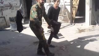 Syria - Assad Soldiers Dance as Rebels Outlaw Music - Freedom VS Jihadi Islamist Slavery