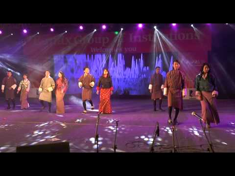 Bhutani Song in Paryaas-2015 at E-Max Group of Institutions.