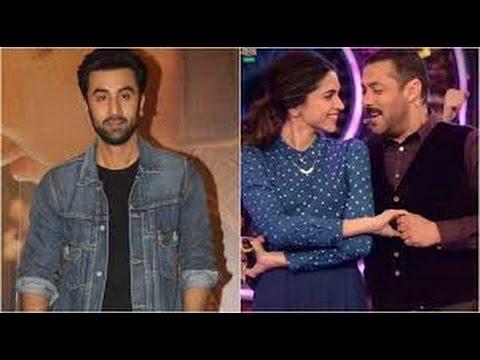 Xxx Mp4 Ranbir Kapoor Jealous Of Salman Khan And Deepika Padukone S Dance LATEST 2017 3gp Sex