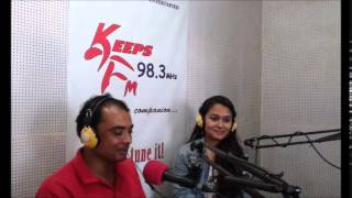 Lyricist Ramesh Dahal interview with Barsha ( Keeps FM) Part  2