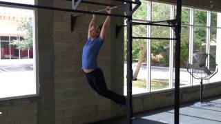 how to finally link toes to bar