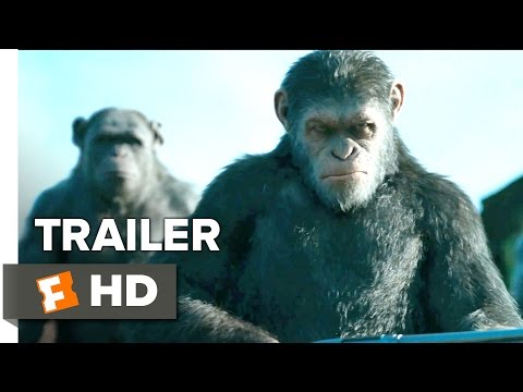 War for the Planet of the Apes Official Trailer 1 2017 Andy Serkis Movie