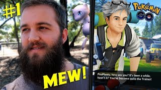 THE SEARCH FOR MEW - POKEMON GO MYTHICAL QUEST (PART 1)