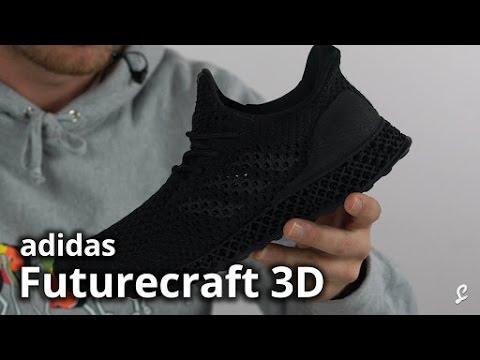 adidas Futurecraft 3D Runner Review / Unboxing Triple Black