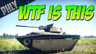 WTF IS THIS - New SEAL CLUBBER (War Thunder Tanks Gameplay)
