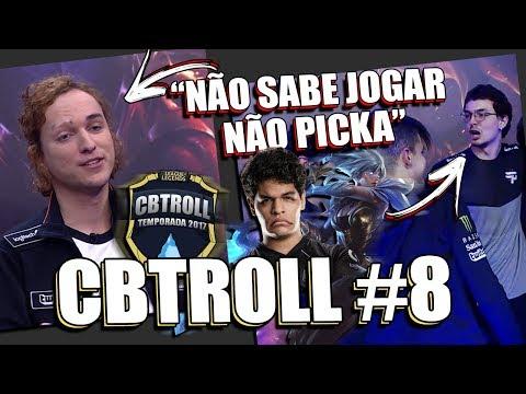 CBTROLL #8   MYLON DIZ QUE AYEL NÃO SABE JOGAR DE RIVEN & NOVO CORTE DO MICÃO