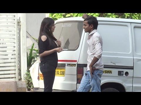 Girl Approaching Strangers in India - FUNK YOU (Prank in India)