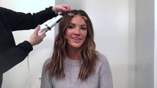 Beach Wave Hair Tutorial for Short Hair