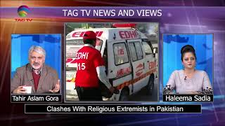 TAG TV News & Views Bulletin on Clashes in Pakistan, Hafiz Saeed