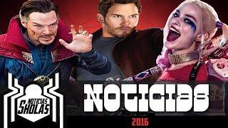 #NoticiasSholas: Batman Terrorifico, Guadians of the Galay, Dr. Strange y mas!
