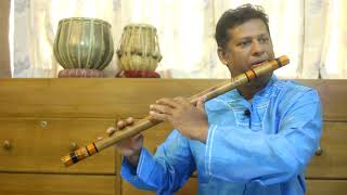 Lesson 6:  How to practice Sargam in rhythm with Flute/Bansuri