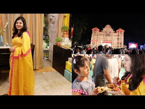Xxx Mp4 My First Day Look Of Durga Puja 2018 Maha Sashti Powai Mumbai Maitreyee Passion Indian Vlogger 3gp Sex