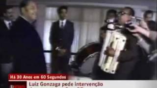 Há 30 anos, Luiz Gonzaga pedia intervenção do governo em Exu (PE)