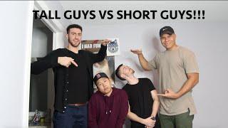 TALL GUYS VS SHORT GUYS w/ TEAM ALBOE!