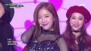 뮤직뱅크 Music Bank - 예쁜게 죄(Oh! my mistake) - 에이프릴(APRIL).20181116