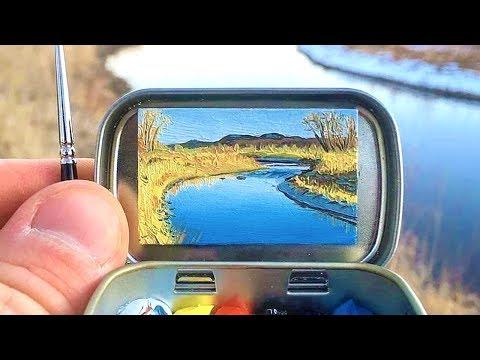 World s Tiniest Painting