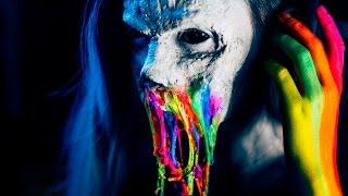Rainbow Neon Zombie -- FX Makeup Tutorial