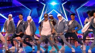 Empire Dance Crew Tributes Little Mix With Their Dance Routine | Audition 7 | Britain