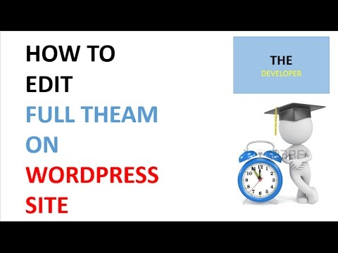 HOW TO EDIT WORDPRESS THEAM 2017 Customize any Wordpress Theme - Understanding style.css, header