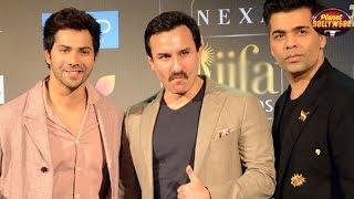 Varun Dhawan,Saif Ali Khan & Karan Johar Trolled For Their Nepotism Act   Bollywood News