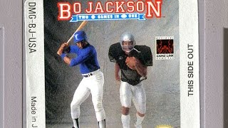 CGR Undertow - BO JACKSON: TWO GAMES IN ONE review for Game Boy