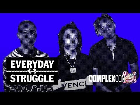YBN Nahmir Cordae & Almighty Jay on Brotherhood vs. Business Gaming Rap Beef Everyday Struggle