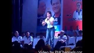 Danao City May 10 2013  Gwen Garcia Live (Ang Hiwi Tarungon)