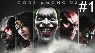 Injustice Gods Among Us - Playthrough #1 [FR][HD]