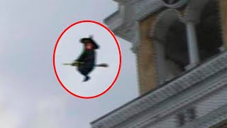 5 Witches Caught On Camera ♦️ Scary Videos