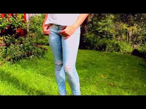 DIY : Acid Wash Jeans 2015