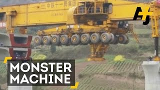 Watch Monster Machines Build A Bridge In Lightning Speed