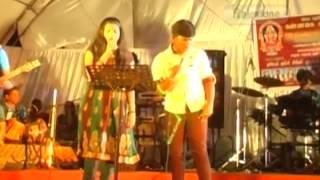 Airtel super singer jaffna show Anthimalai Polikinrthu gowtham,Suganya Rajestone Production