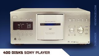 Sony 400 Disk Player