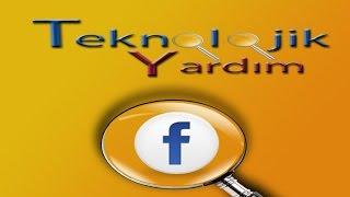 Facebook arama geçmişini görüntüleme. Arama geçmişi silme.