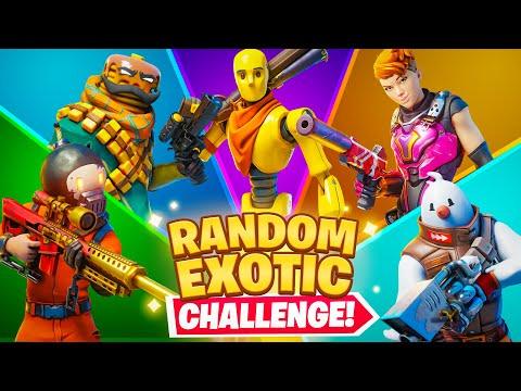 The RANDOM EXOTIC Boss Challenge
