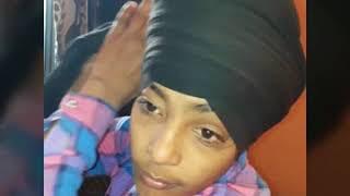 I proud to be Sikh......Tie #Damala Dastar......How to tie Simple Damala...