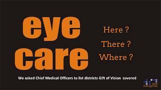 Eye Care Every Where At Sankara Eye Foundation India