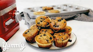 How to Make Wild Blueberry & Beet Muffins -  Breakfast Recipe