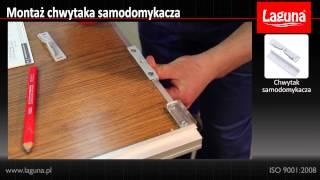 Montaža Laguna usporivača za klizne plakare (soft closing)