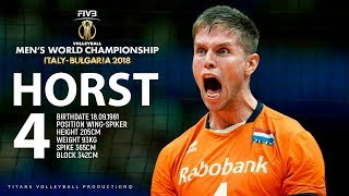 Thijs Ter Horst - Monster of the Vertical Jump | FIVB Mens WCH 2018